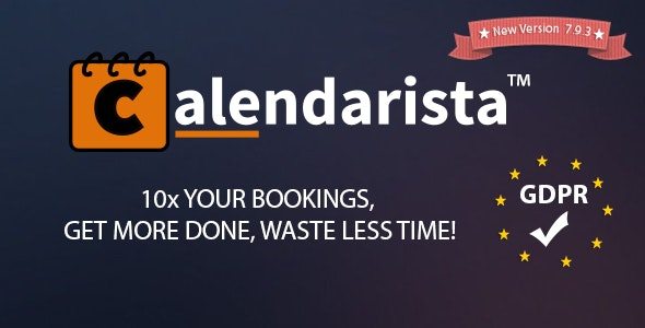 Calendarista Premium v9.8 - WP预约/预订插件和计划系统