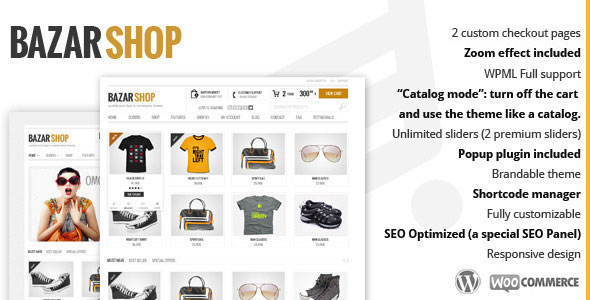 Bazar Shop v3.1.1 – Multi-Purpose e-Commerce Theme