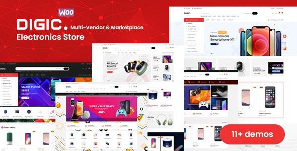 Digic v1.0.1 – 电子商店WooCommerce主题