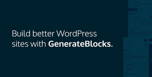 GenerateBlocks Pro v1.0.4 – 附加组件