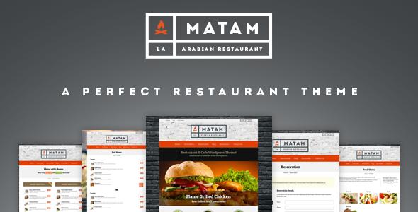 Mataam Restaurant v5.1.0 – Responsive WordPress Theme