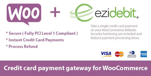 WooCommerce Ezidebit Gateway v1.0