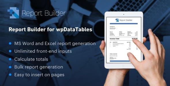 wpDataTables 报表生成器插件 v1.3.4