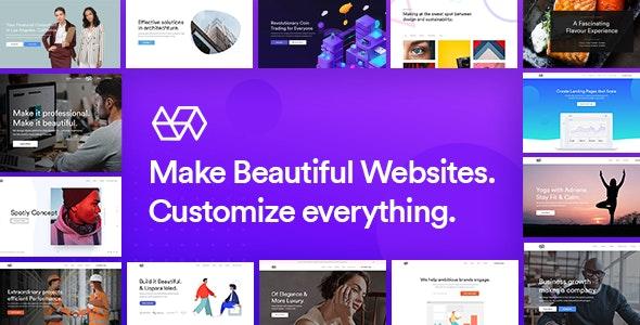 Webify v3.7 – 多合一Elementor准备就绪的WordPress主题