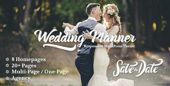 Wedding Planner v4.2 – 响应式婚礼策划WordPress主题