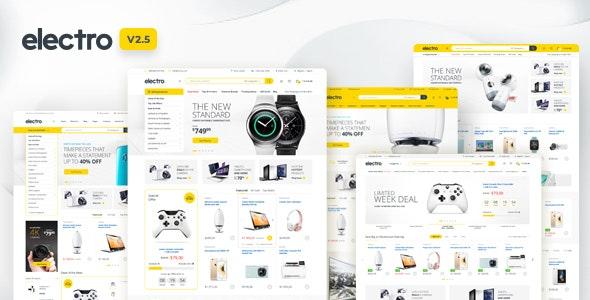 Electro v2.5.9 – 电子商店WooCommerce主题
