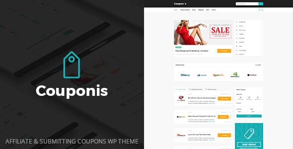 Couponis v3.1.2 – 会员和提交优惠券WordPress主题