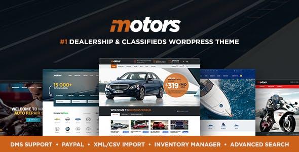 Motors v4.7.2 – 汽车,车辆,车型,轮船经销主题