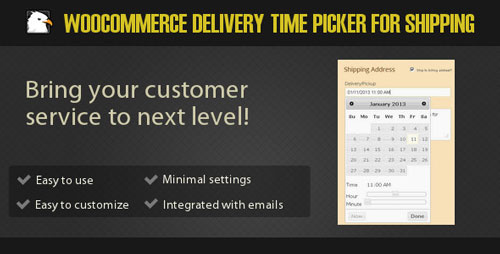 Woocommerce Delivery Time Picker for Shipping 2.1.19