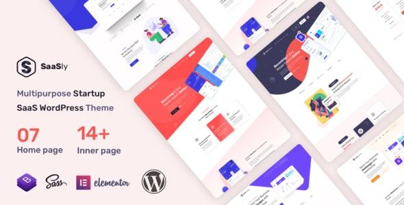 SaaSly v1.0.0 - 启动展示WordPress主题