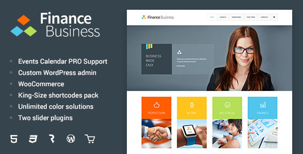 Finance Business v1.1.6 – Company Office Corporate Theme