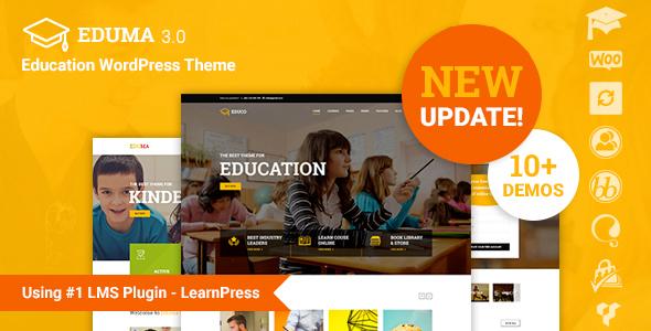 Education WP v3.1.1 – Education WordPress Theme