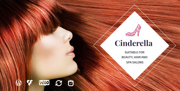 Cinderella v1.6 – Theme for Beauty, Hair and SPA Salons