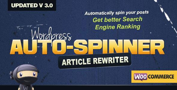 WordPress Auto Spinner v3.7.5 – 文章重写器
