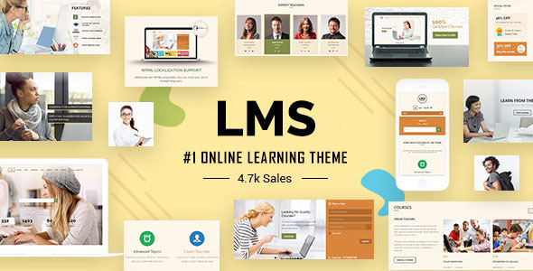 LMS v6.0 – 响应式WordPress学习管理系统