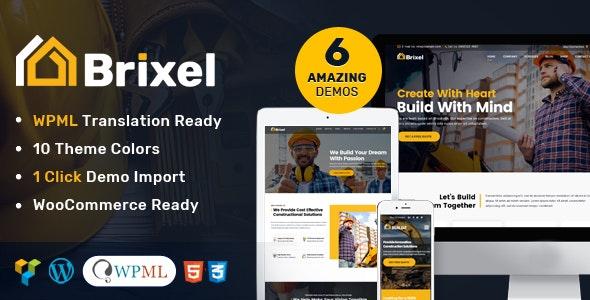Brixel v2.0.2 - 建筑施工WordPress主题