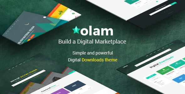 Olam v3.2 – WordPress Easy Digital Downloads Theme
