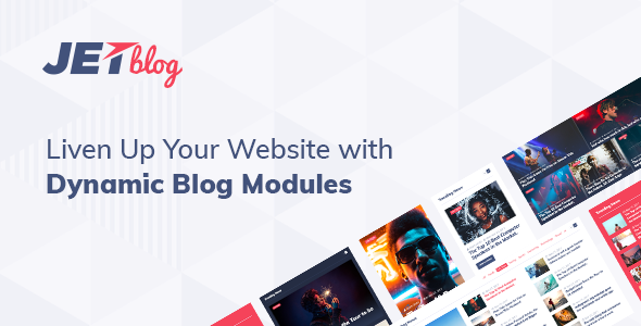 JetBlog v2.2.7 – Elementor页面生成器博客软件包