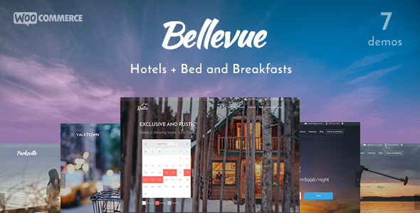 Bellevue v1.8.4 – Hotel + Bed & Breakfast Booking Theme