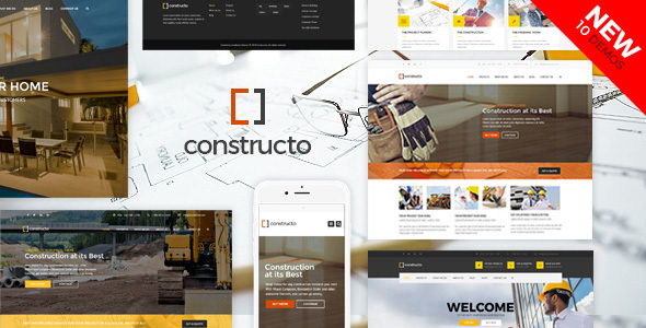 Constructo v4.1.5 – WP建设业务主题