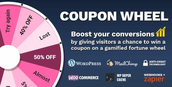 WooCommerce和WordPress优惠券幸运大转盘 v3.2.1